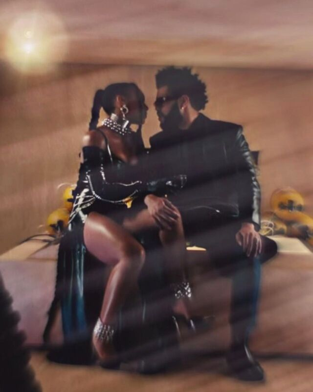 she loves to be on the edge..  @theweeknd - TAKE MY BREATH music video - extended audio available soon.   XO  -